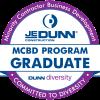 JE Dunn MCBD_Graduate Seal_2-Clr